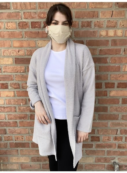 RD Style 'Grey Cloudy Skies' Cardi