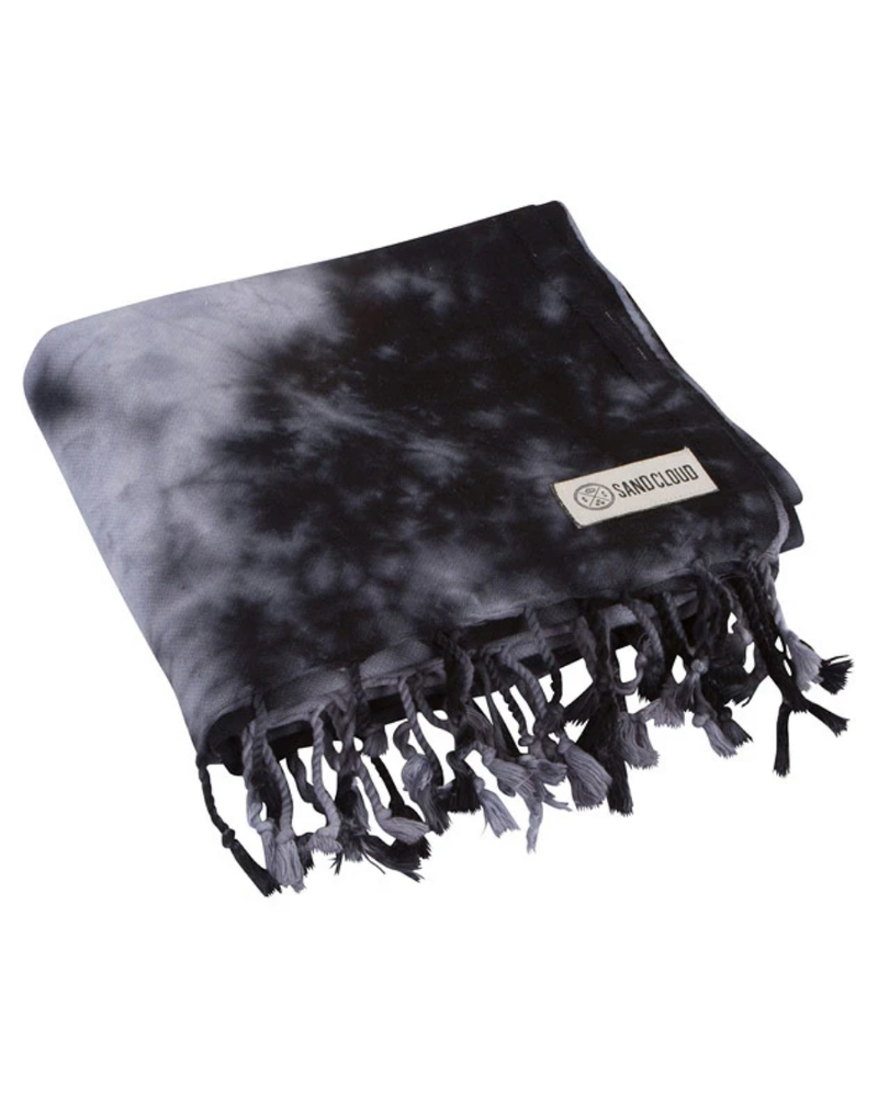 Sand Cloud Sand Cloud Black Acid Wash Towel