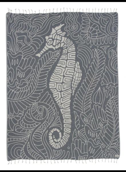 Sand Cloud Seahorse Swirl Towel | Large
