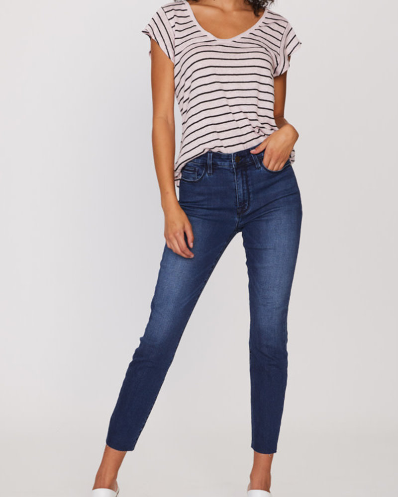 Sanctuary Clothing Sanctuary 'Social Standard' High Rise Skinny Ankle Jean in Blue **FINAL SALE**