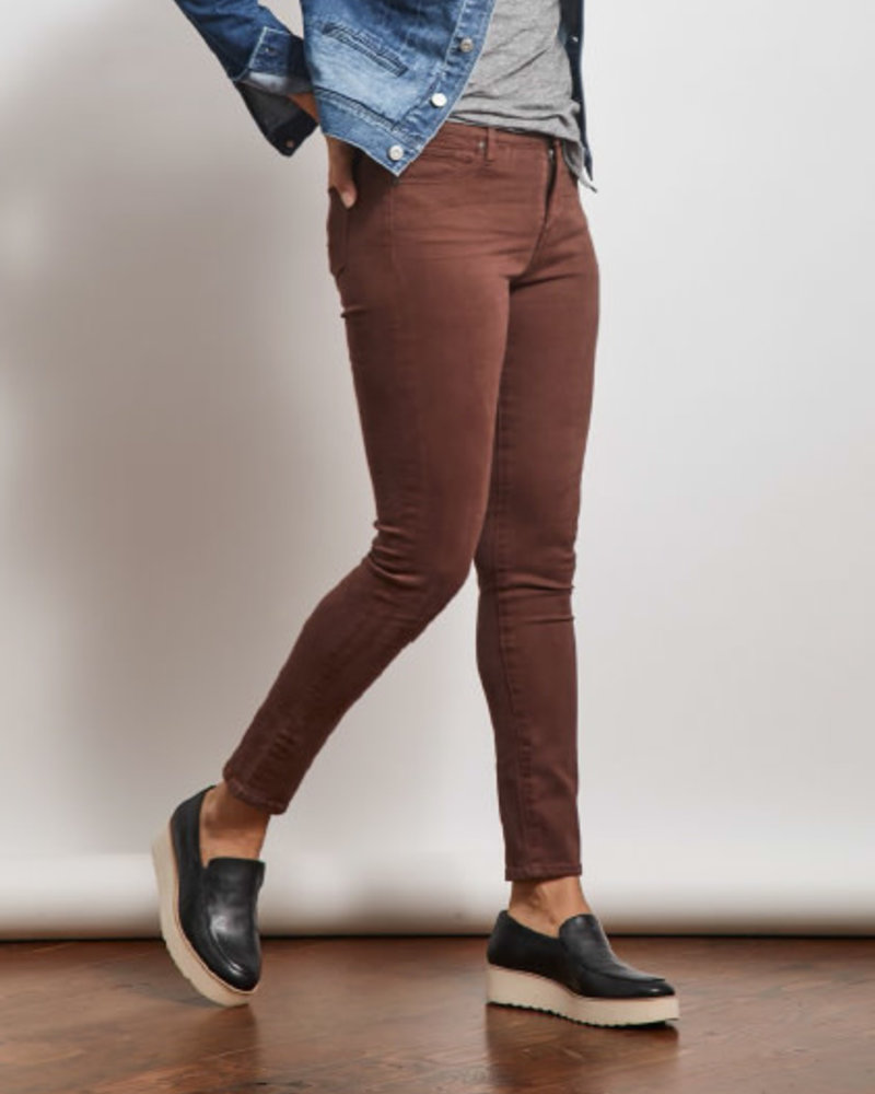 Stonefield Stonefield 'Conrad' High Rise Ankle Skinny Jean in Vintage Plum **FINAL SALE**