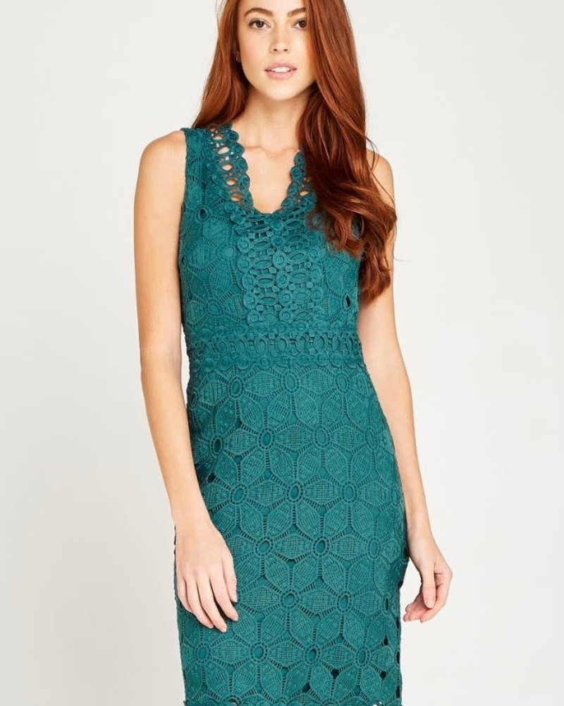 Apricot Apricot 'Lace Or Be Laced' Dress **FINAL SALE**