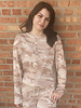 RD Style RD Style Rose Taupe 'Fade Into the Background' Pullover
