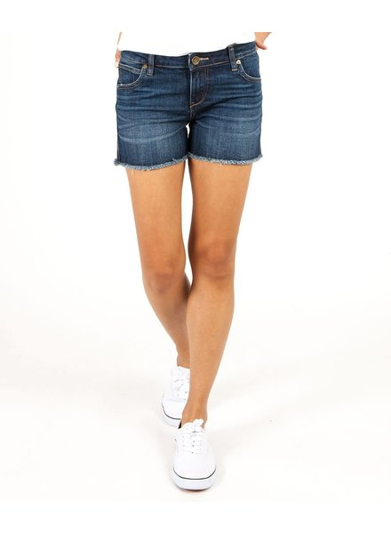 Kut from the Kloth 'Gidget' Frayed Shorts in  Stimulating