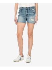 Kut from the Kloth 'Gidget' Frayed Shorts in Traveler