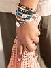 Scout Curated Wears Scout Good Karma Miyuki Charm Bracelet - Good Karma in Brave Midnight/Sparkle/Silver