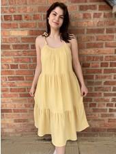 KLD Signature Yellow 'A Ray Of Sunshine' Dress