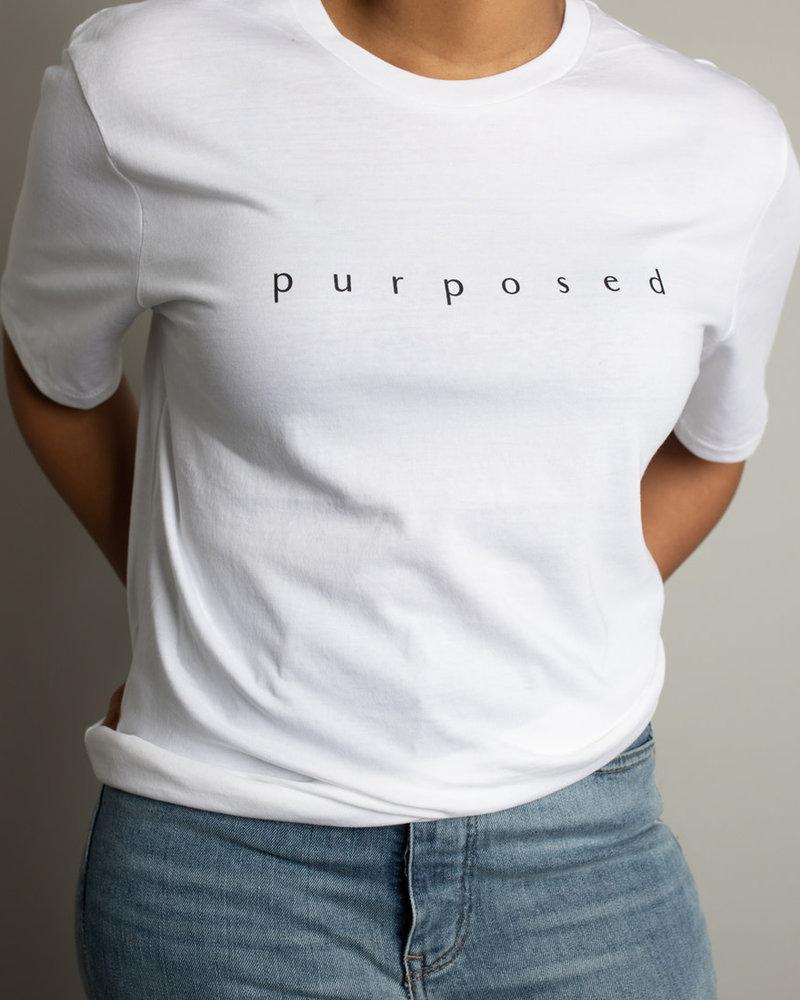 Know Purpose Know Purpose 'Purposed' Tee **FINAL SALE**