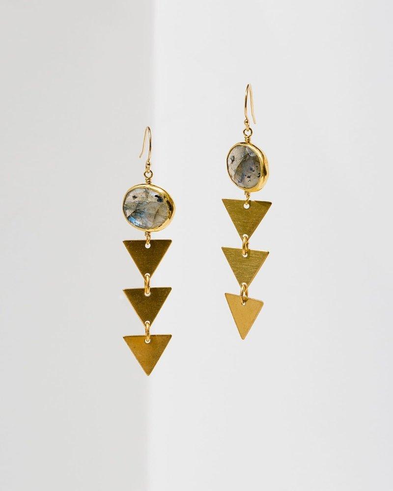 Larissa Loden Larissa Loden Labradorite 'Pasiphae' Earrings