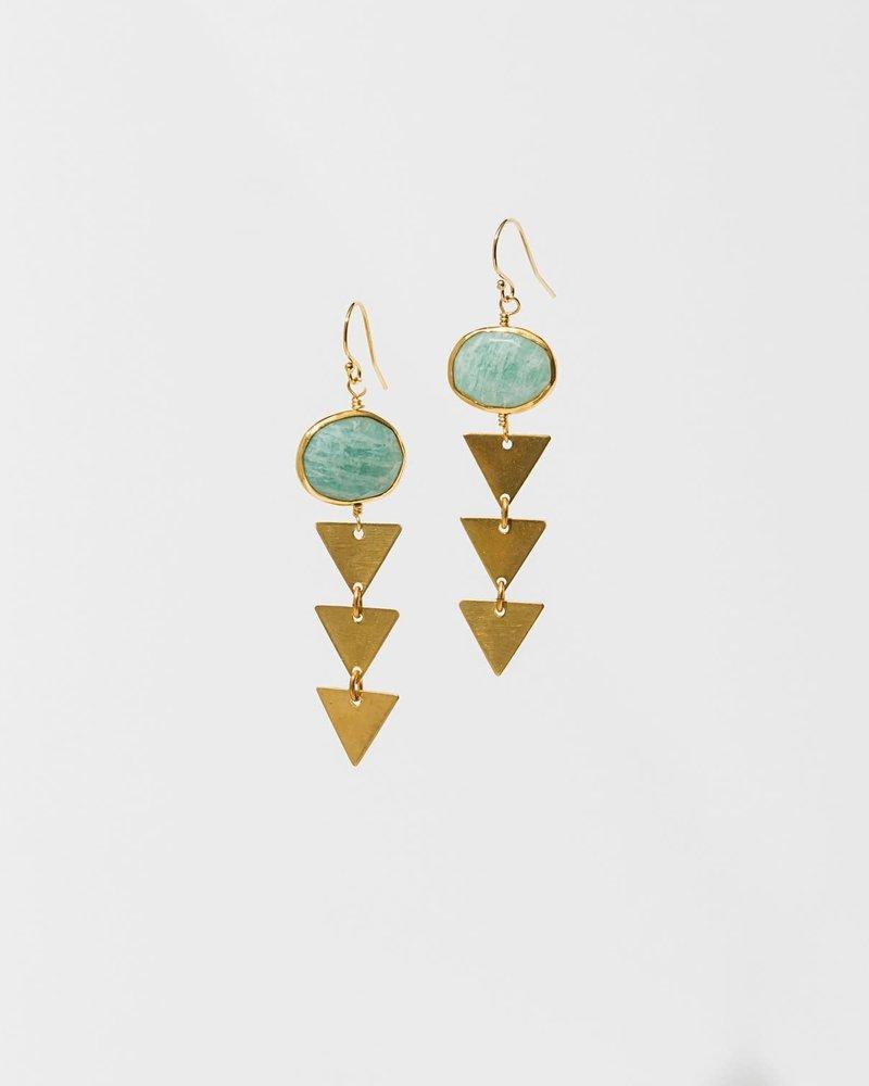 Larissa Loden Larissa Loden Amazonite 'Pasiphae' Earrings
