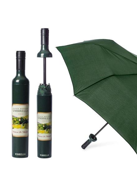 Vinrella Estate Labeled Wine Bottle Umbrella **FINAL SALE**