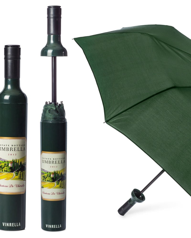 Vinrella Vinrella Estate Labeled Wine Bottle Umbrella