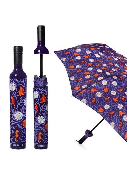 Vinrella Coral Reef Wine Bottle Umbrella