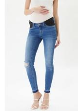 Kancan 'Hewitt' Maternity Super Skinny Jeans