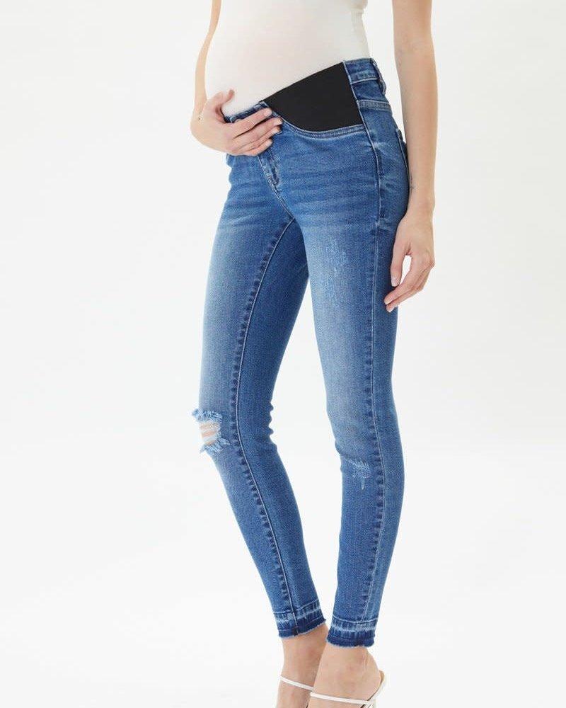 Kancan Kancan 'Hewitt' Maternity Super Skinny Jeans