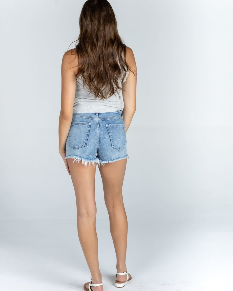 Articles of Society Articles of Society 'Meredith' High Rise Shorts in Kurtistown **FINAL SALE**