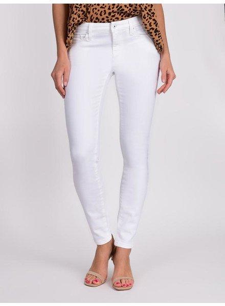 Lila Ryan Louise Mid Rise Skinny Jean in White
