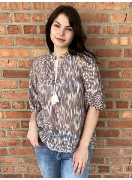 The Korner 'Below Sea Level' Tassel Top