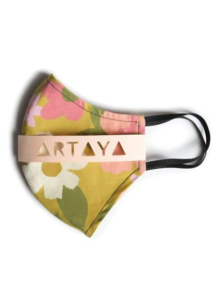 Artaya Loka Adult Face Mask | 70s Flower