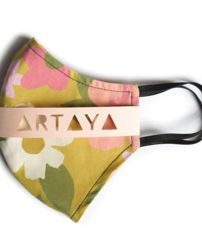 Artaya Loka Artaya 70s Flower Adult Face Mask **FINAL SALE**