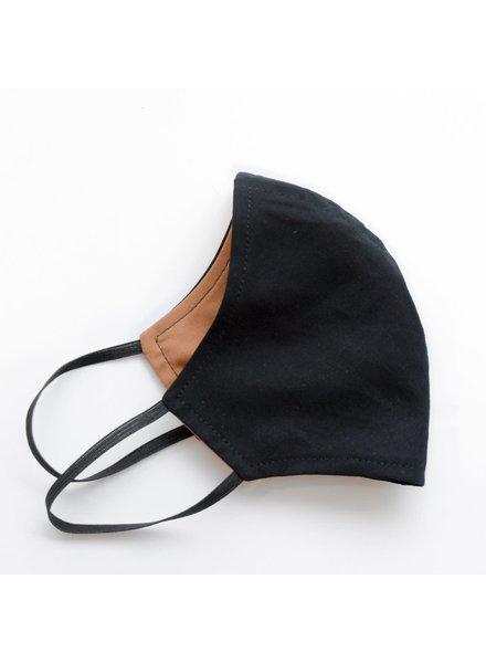 Artaya Loka Adult Face Mask | Solid Black