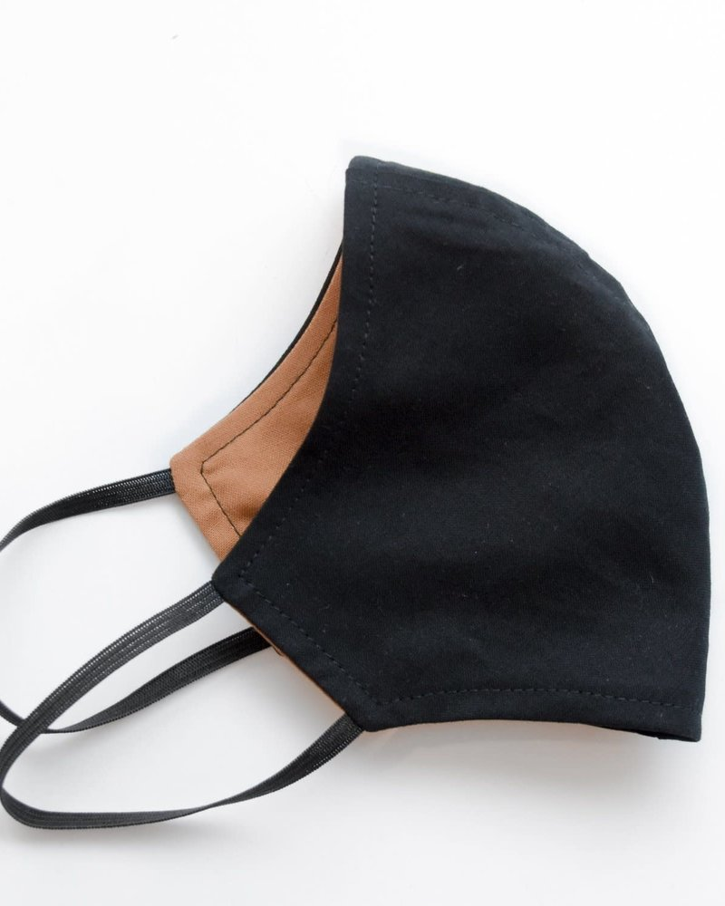 Artaya Loka Artaya Solid Black Adult Face Mask **FINAL SALE**