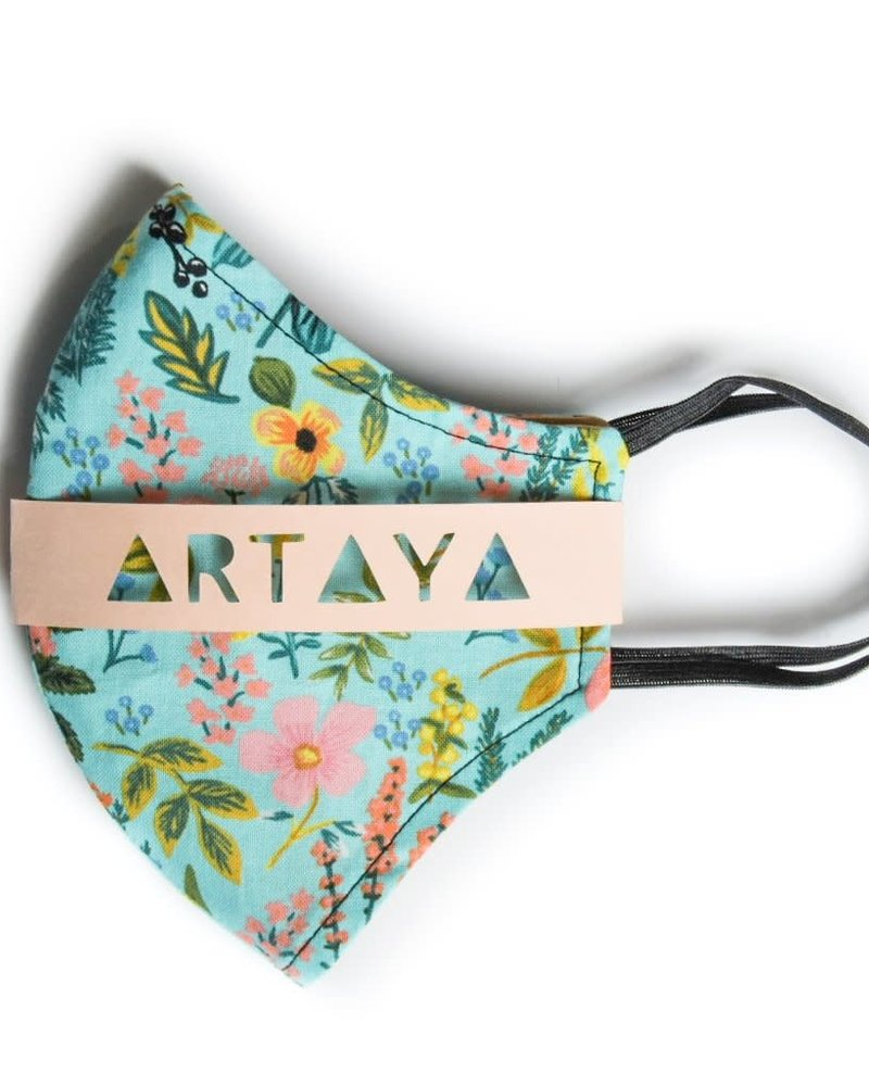 Artaya Loka Artaya Spring Wildflowers Adult Face Mask **FINAL SALE**