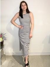RD Style 'Stripe Back At You' Midi Dress