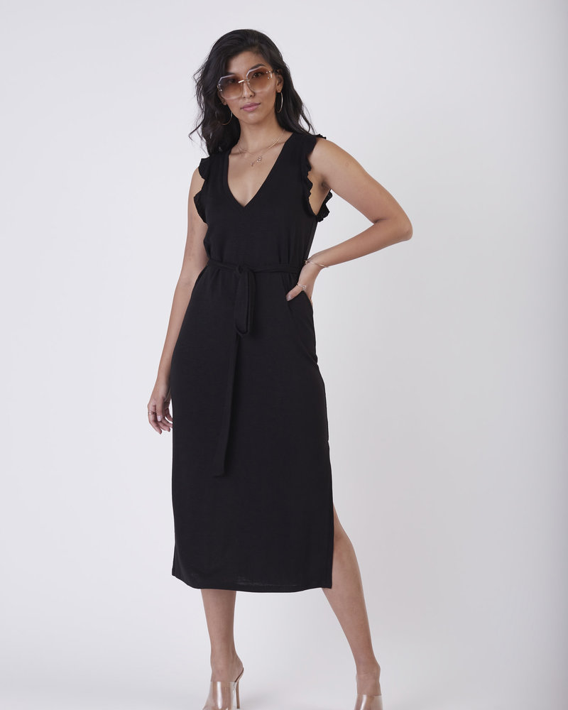Black Tape Black Tape 'My Little Go To' Midi Dress
