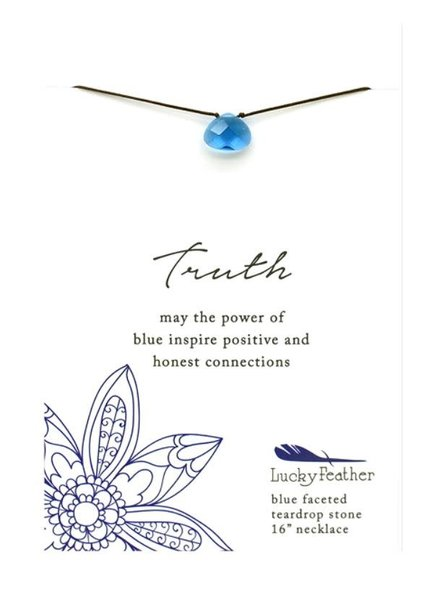 Lucky Feather Color Power Necklace | Truth