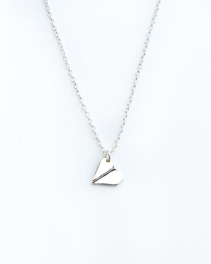Lucky Feather Lucky Feather Congrats Grad Necklace | Ready for Takeoff