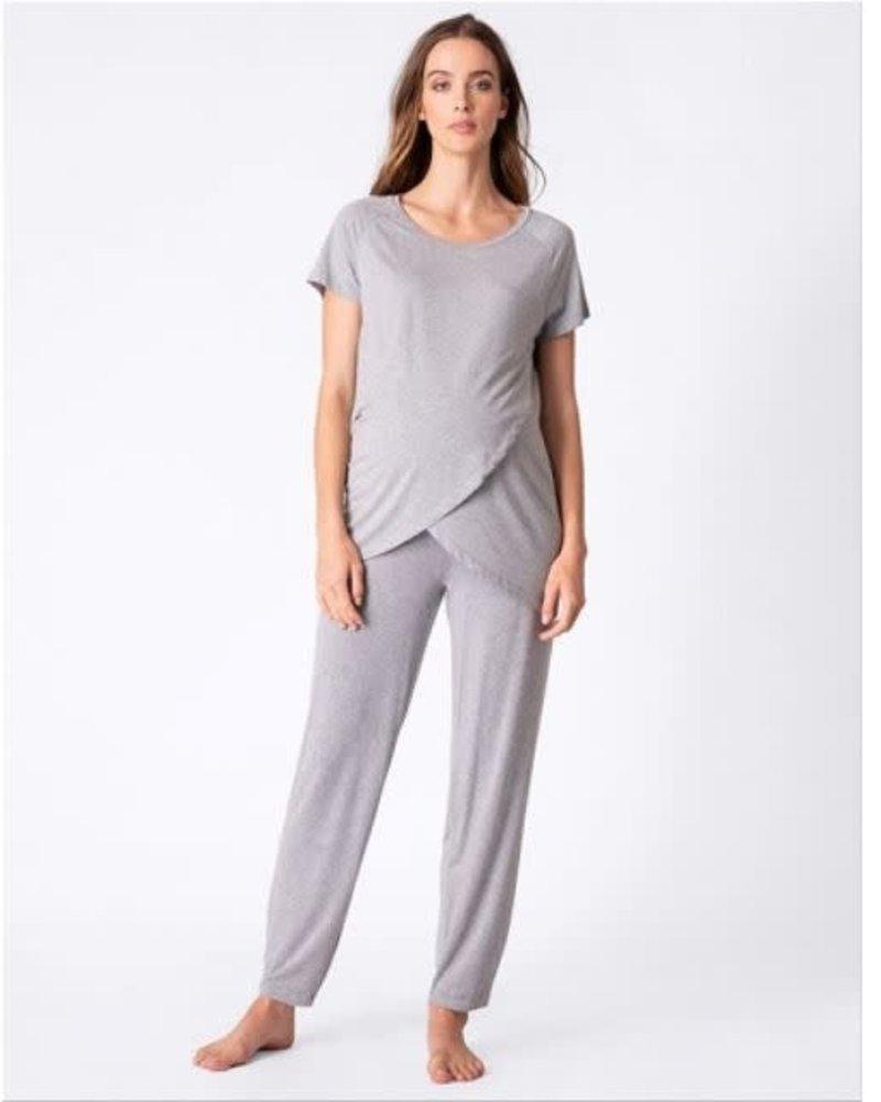 Seraphine Maternity Seraphine Maternity 'Priyanka' Crossover Front Pajama Set