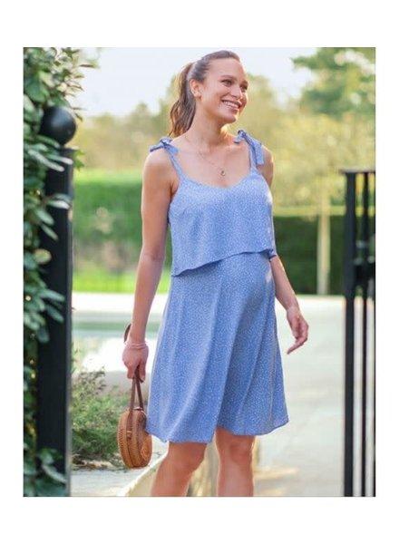 Seraphine Maternity 'Tillie' Layered Cami Dress