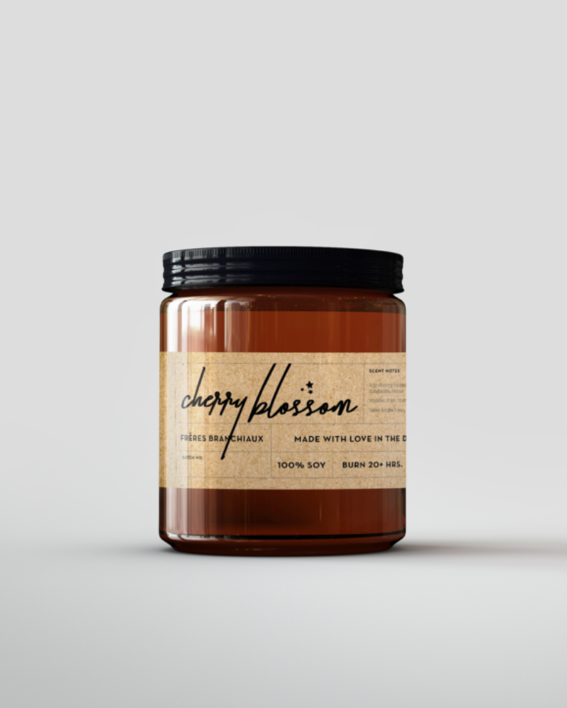 Freres Branchiaux Candle Co. Freres Branchiaux Cherry Blossom Soy Candle