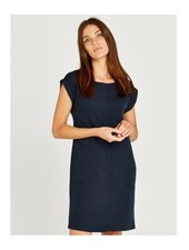 Apricot '2 Is Better Than 1' Double Pocket Roll Sleeve Dress