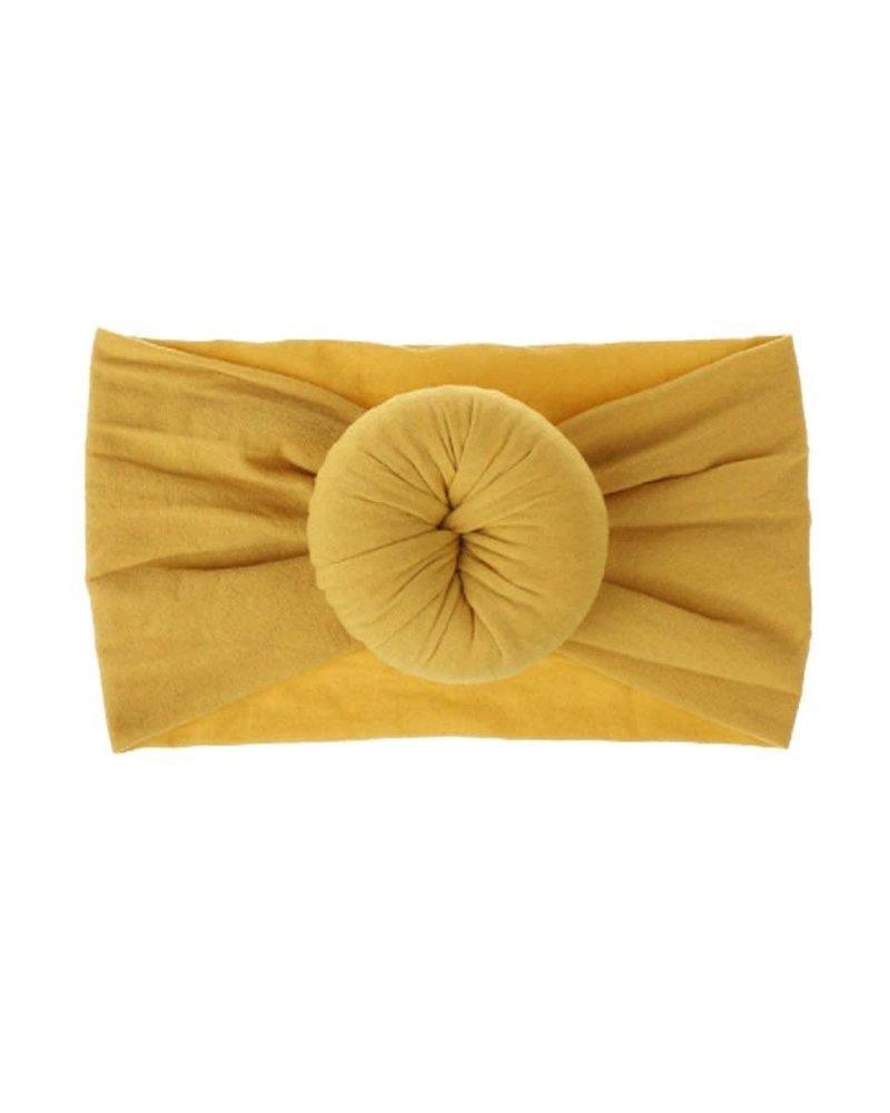 Emerson & Friends Emerson & Friends Mustard Bun Baby Headband
