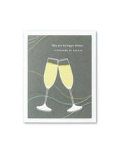 Compendium Wedding Card | 'May You Be Happy Always'