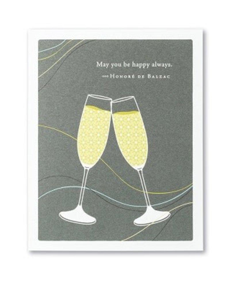 Compendium Compendium Card 'May You Be Happy Always'