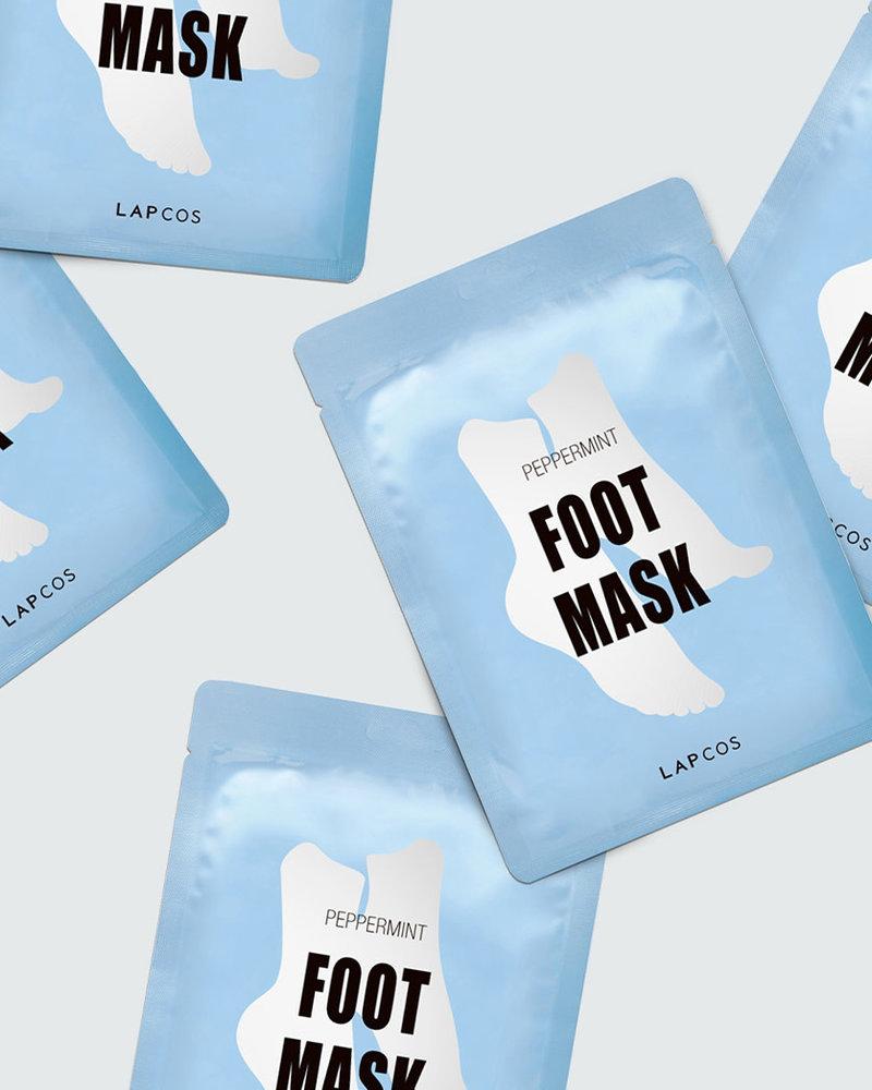 Lapcos Lapcos Peppermint Foot Mask Set (Pack of 5)