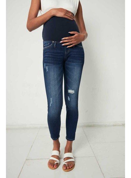 Kancan 'April' Maternity Skinny Jeans