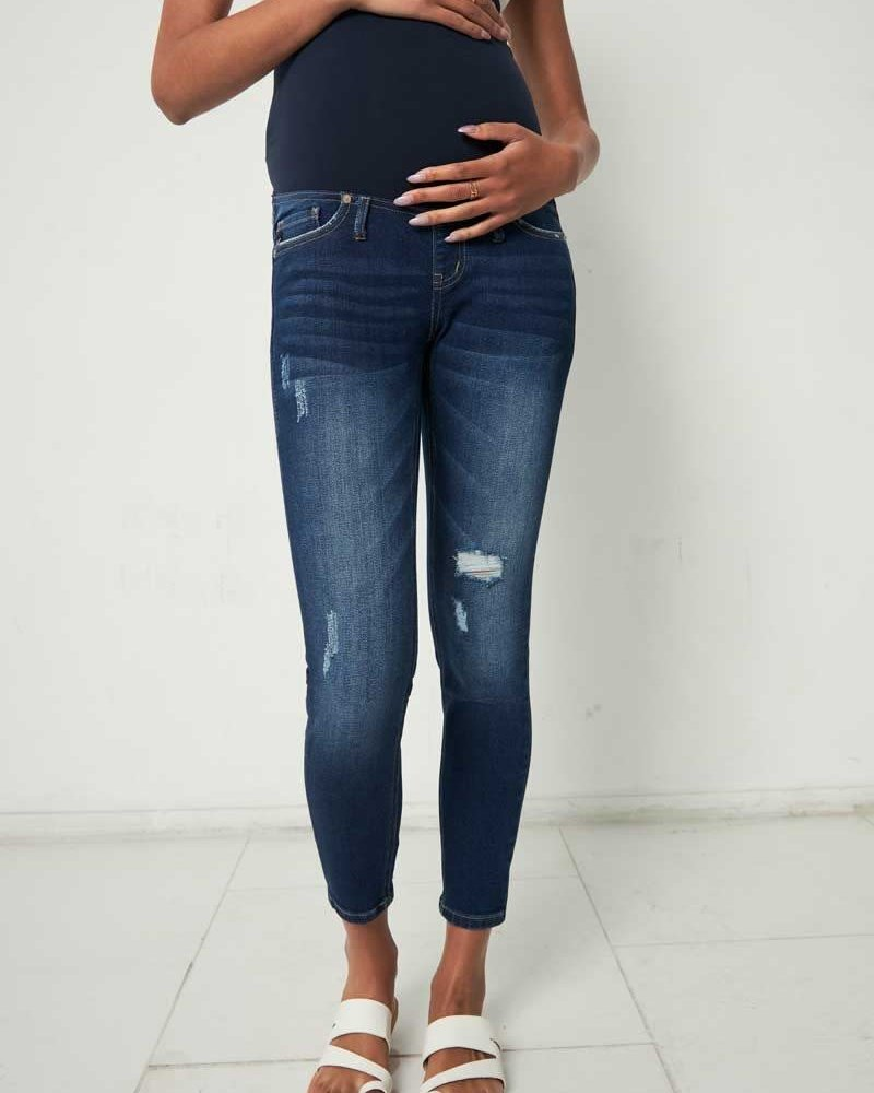 Kancan Kancan 'April' Maternity Skinny Jeans