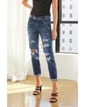 Kancan 'Devika' Mid Rise Boyfriend Jeans ***FINAL SALE***