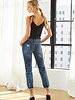 Kancan Kancan 'Devika' Mid Rise Boyfriend Jeans