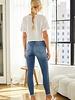 Kancan Kancan 'Tess' High Rise Super Skinny Jeans