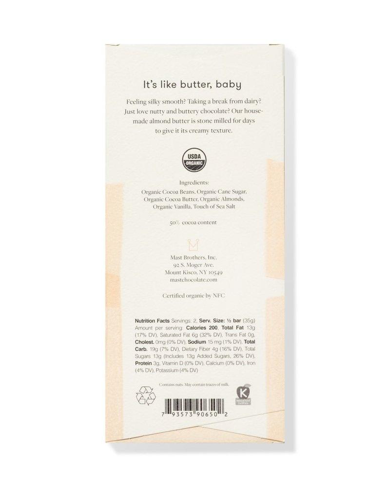 Mast Mast Almond Butter Chocolate | Classic 2.5 oz