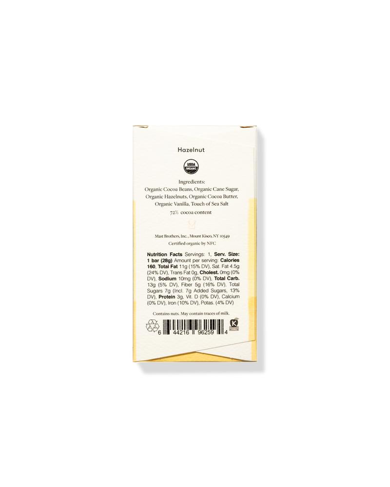 Mast Mast Hazelnut Chocolate | Mini 1 oz