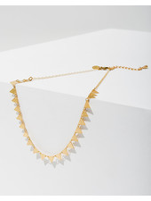 Larissa Loden 'Candra' Triangles Necklace (More Colors)