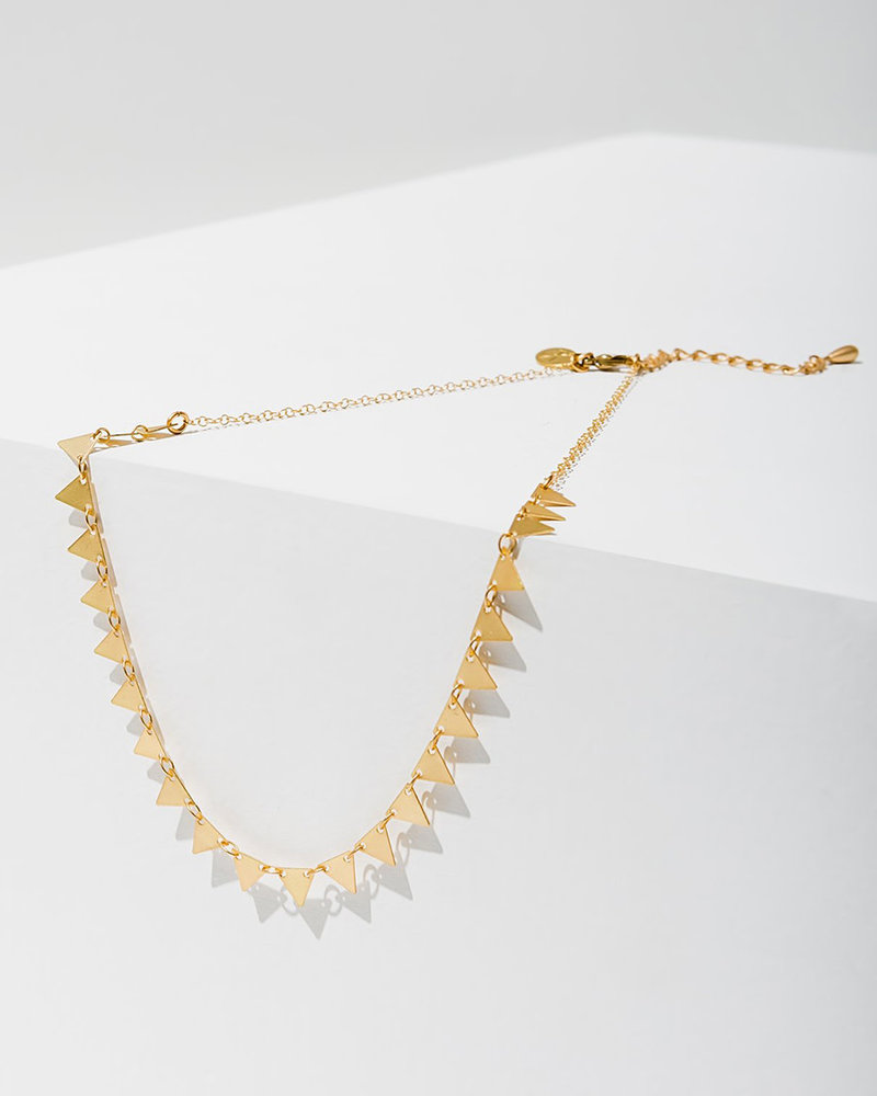Larissa Loden Larissa Loden 'Candra' Triangles Necklace