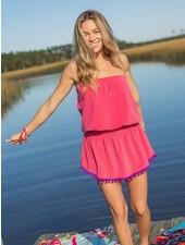 Natural Life Pink Stripe 'Ava' Cover-Up Dress ***FINAL SALE***