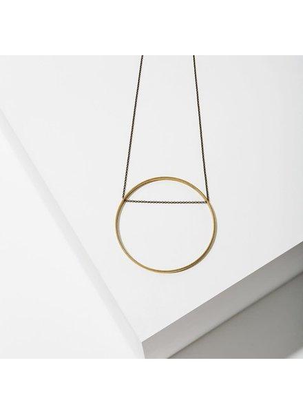 Larissa Loden 'Horizon' Circle Necklace   Large (More Colors)